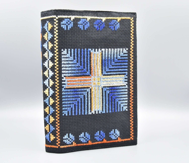 Gotteslob Kreuz auf blauem Grund Standardgröße