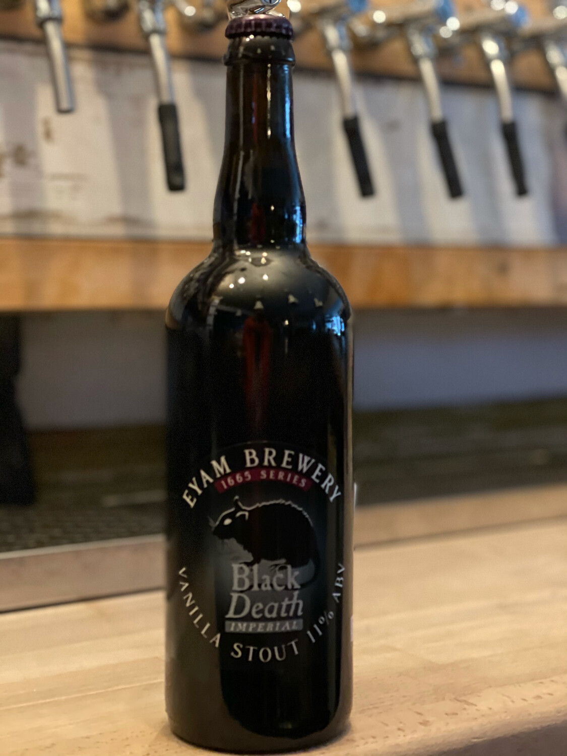 EYAM BREWERY - BLACK DEATH 11%
