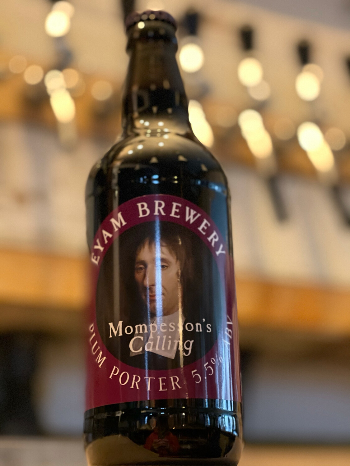EYAM BREWERY- MOMPESSON's CALLING