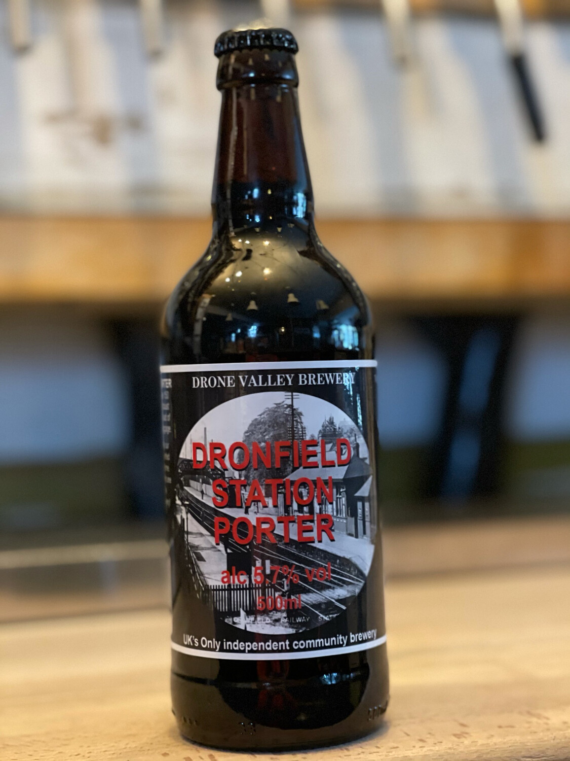 DRONE VALLEY - DRONFIELD STATION PORTER