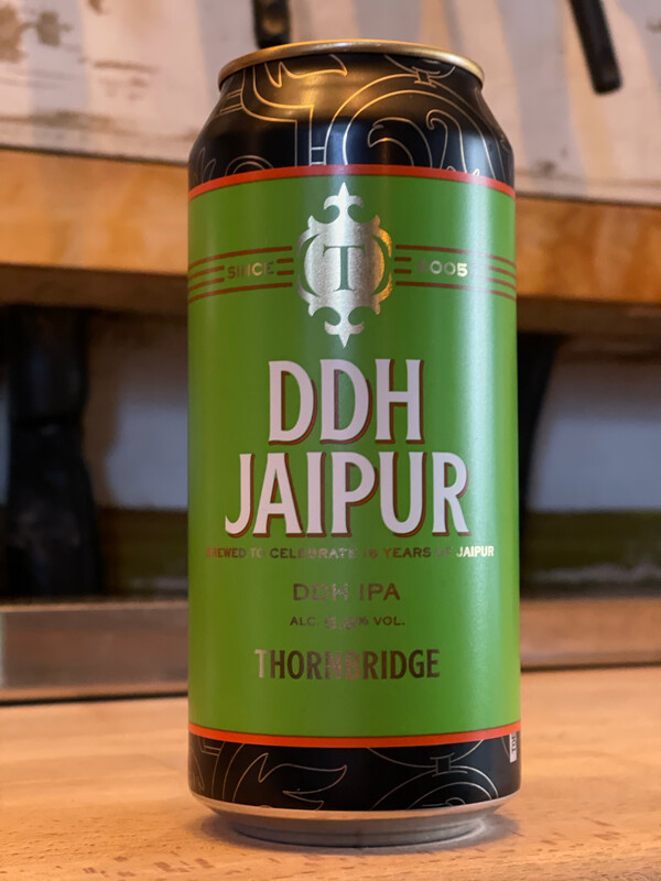THORNBRIDGE BREWERY / JAIPUR - DOUBLE DRY HOP
