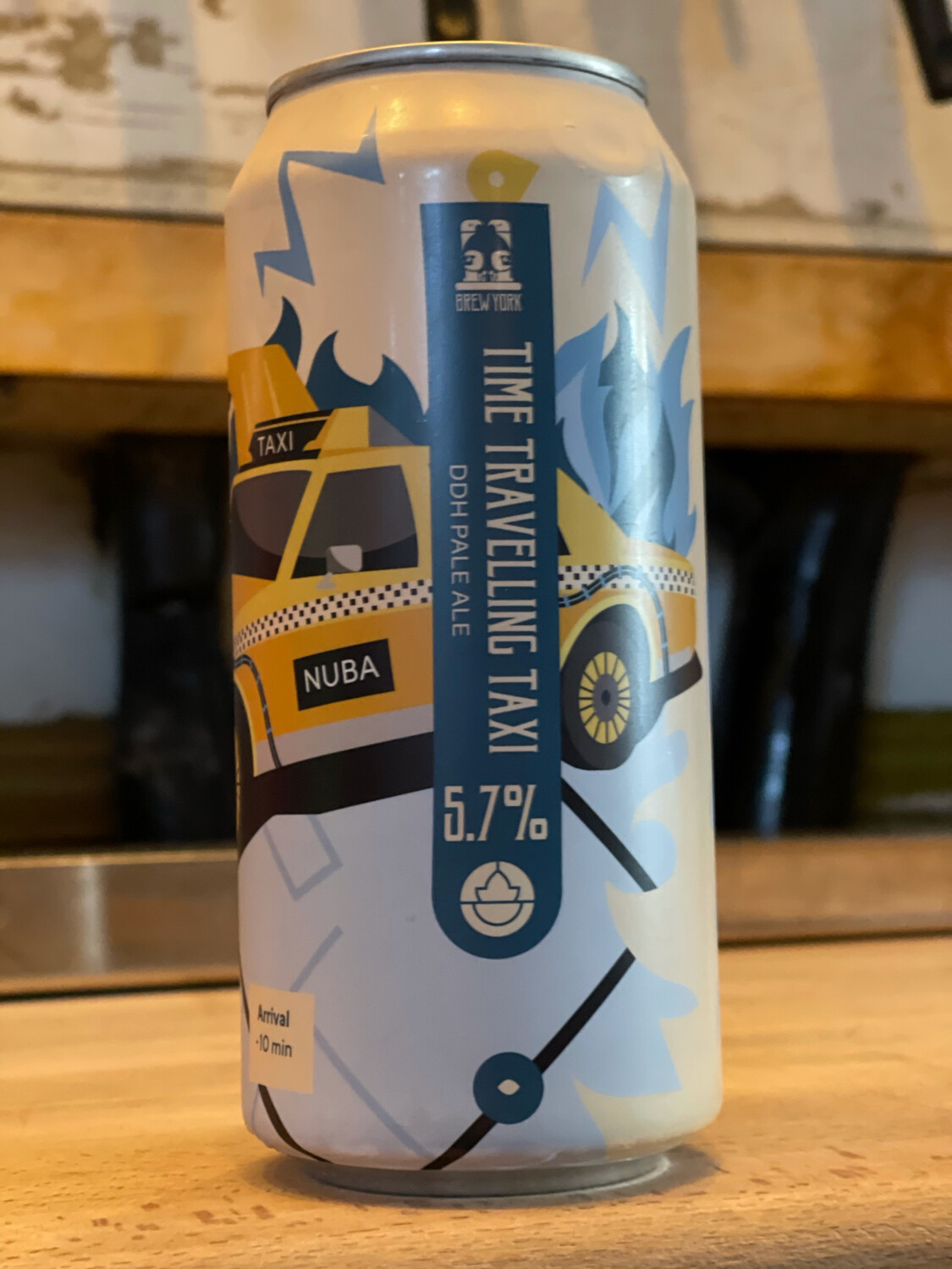 BREW YORK - TIME TRAVELLING TAXI - 5.7%