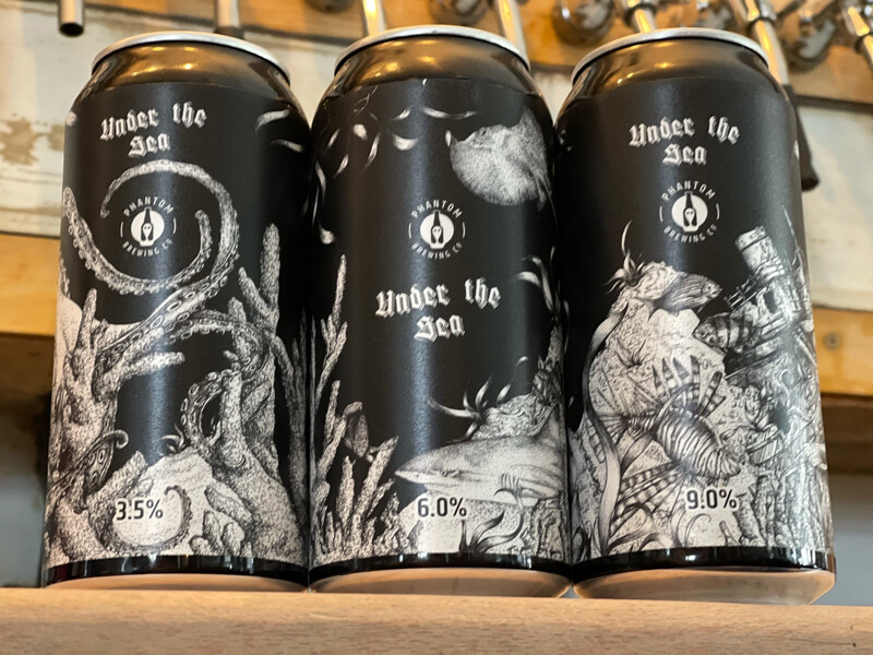 PHANTOM BREWING - UNDER THE SEA - LIMITED RELEASE
