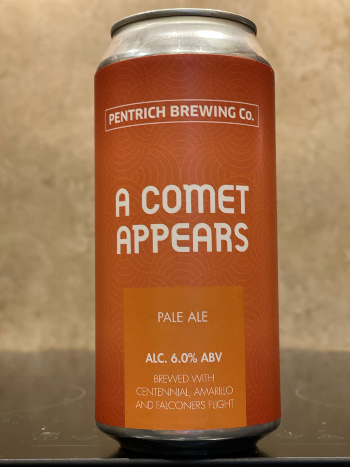 PENTRICH BREWING CO - A COMET APPEARS