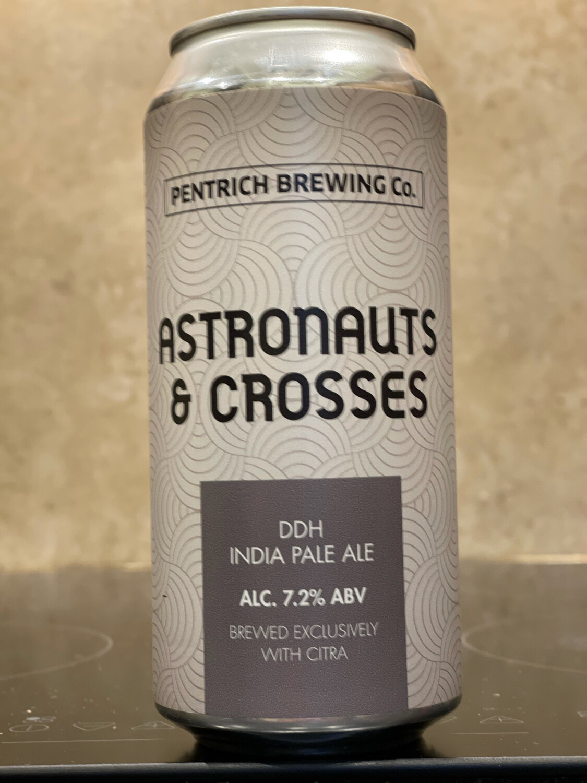 PENTRICH BREWING CO - ASTRONAUTS & CROSSES