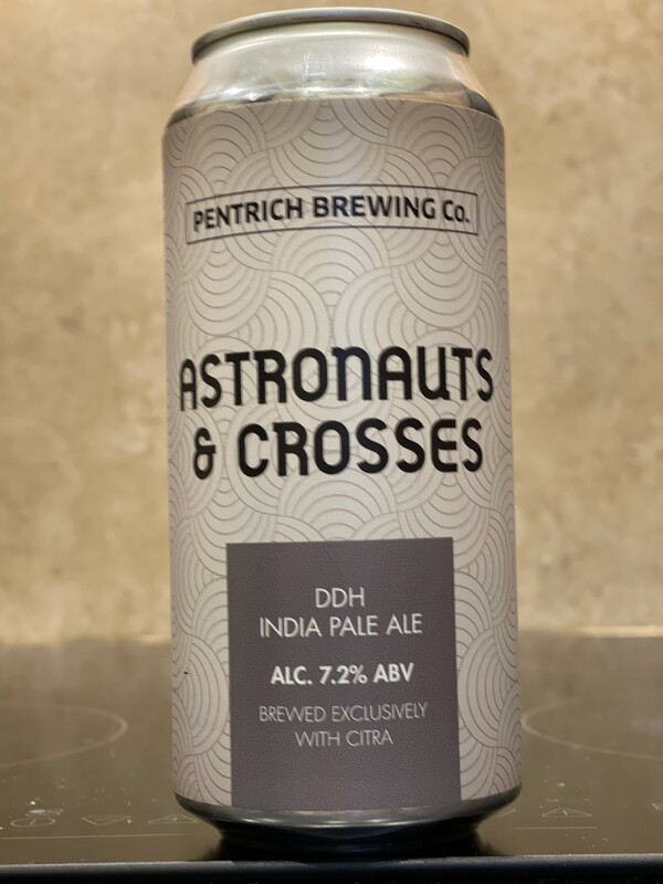 PENTRICH BREWING CO - ASTRONAUTS & CROSSES