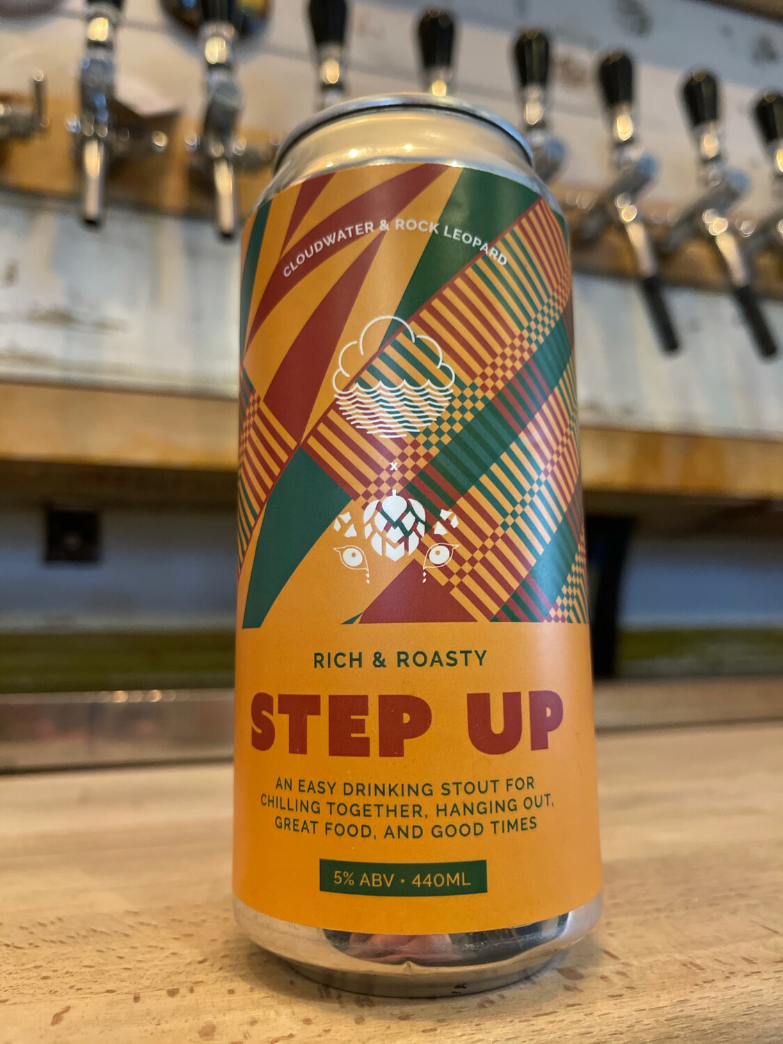 CLOUDWATER x ROCK LEOPARD- STEP UP
