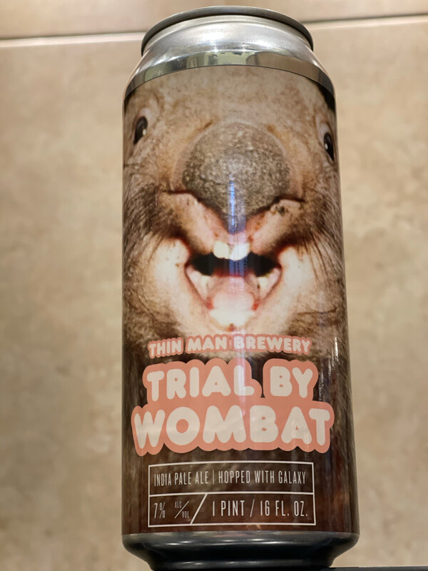 THIN MAN BREWERY- TRIAL BY WOMBAT