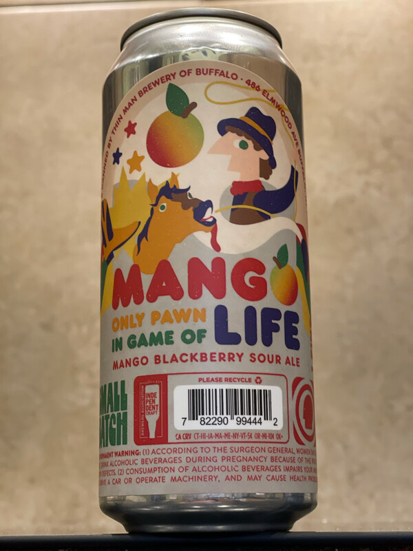 THIN MAN BREWERY - MANGO ONLY PAWN IN GAME OF LIFE