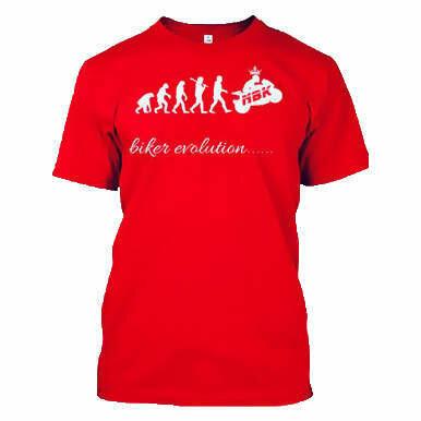 NBK biker evolution T-shirt
