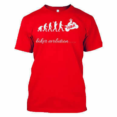 NBK biker evolution T-shirt