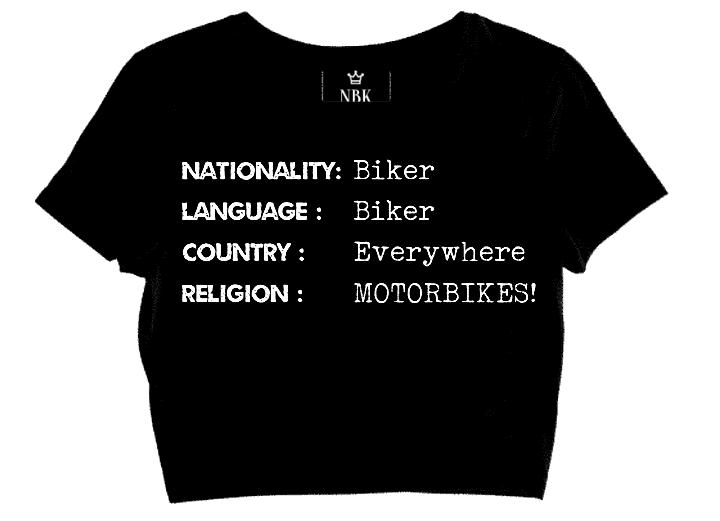 NBK lady biker ID