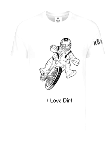 NBK Love Dirt Kids T-shirt
