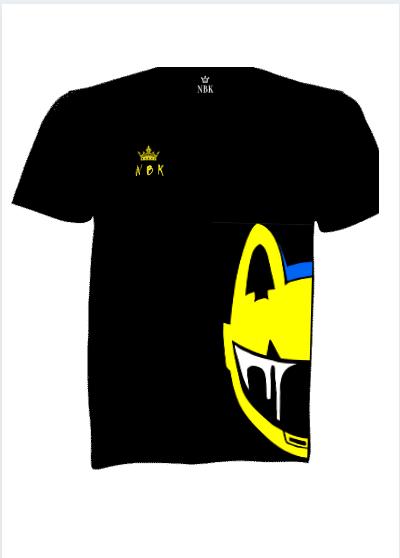 NBK  Biker Kids Electric helmet T-shirt