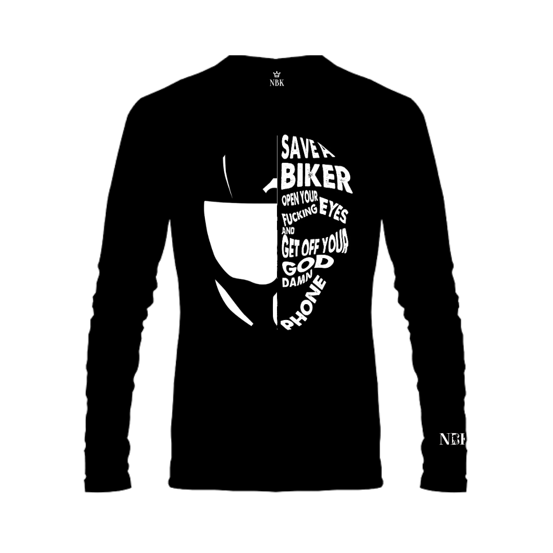 NBK Save a biker Long T-shirt