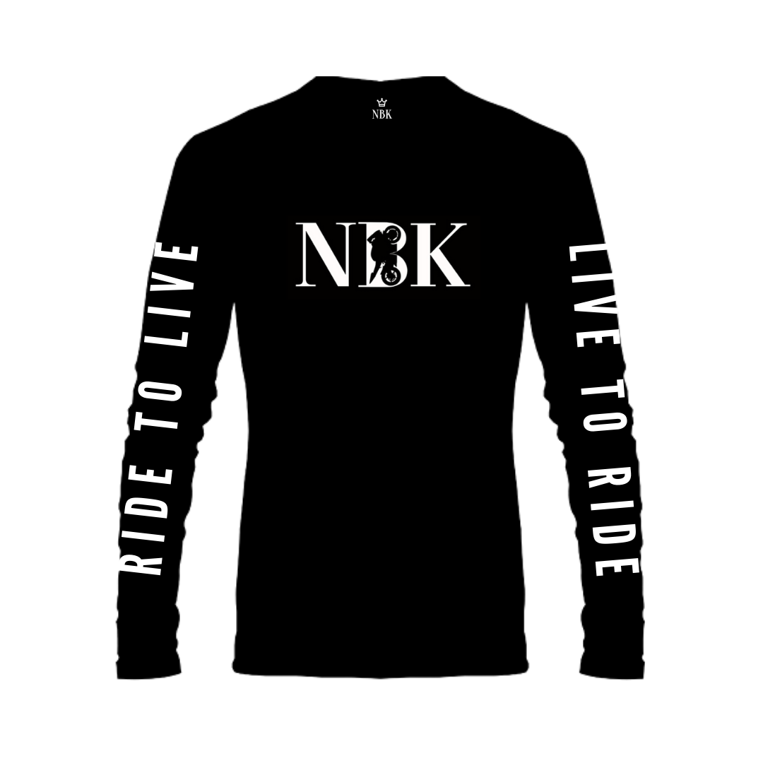NBK Live to Ride Long Sleeve T-shirt