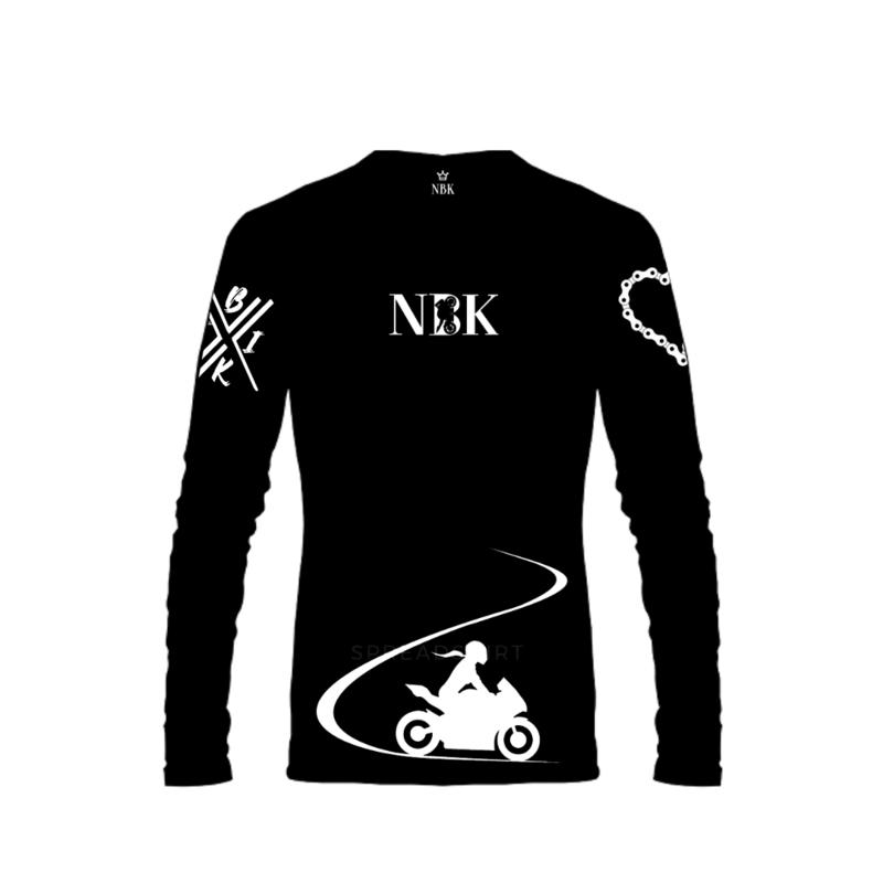 NBK Bikergirl Long sleeve Tee