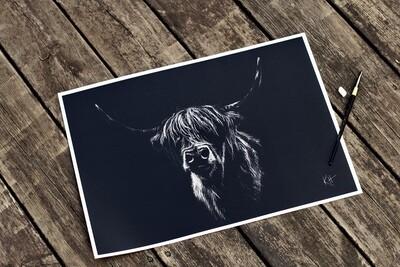'Hamish' - A3 Signed Print