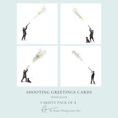 Shooting Cards (4 Pack)