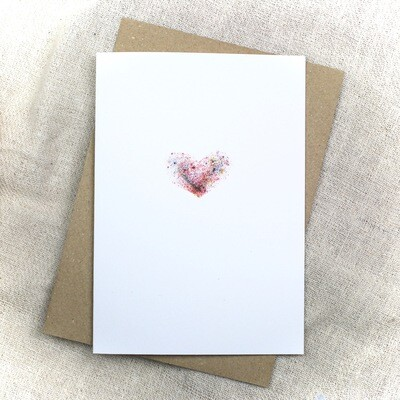 'my heart is your heart' Greetings Card