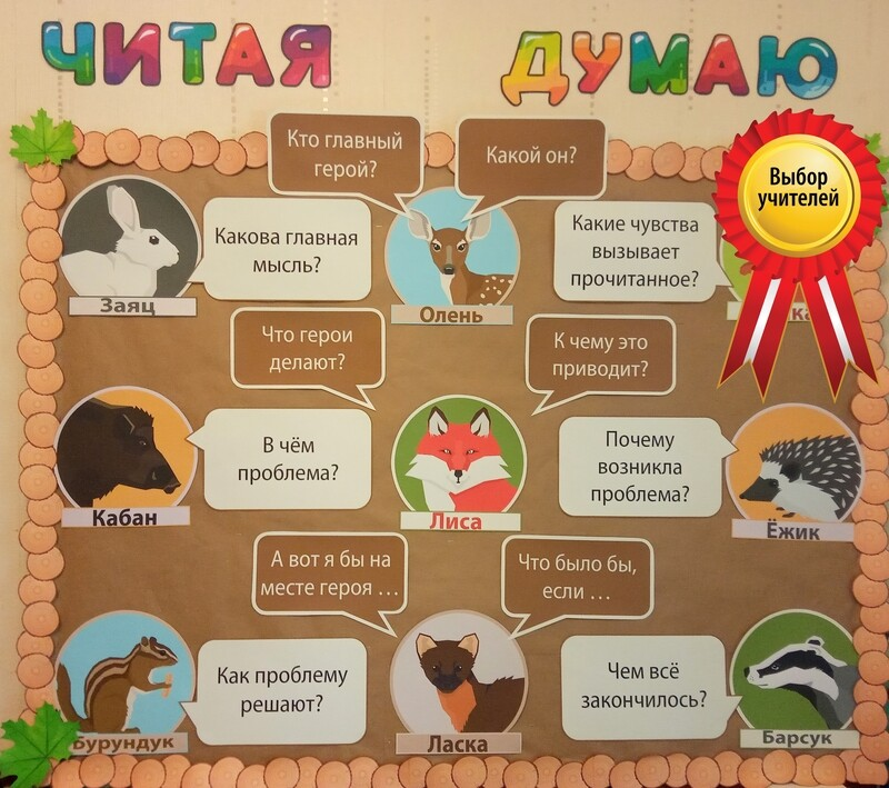 Мотивирующий декор_Лесная школа