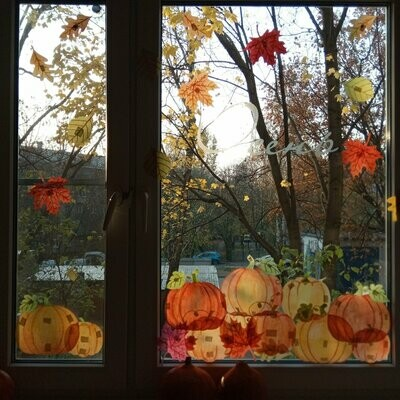 "Декор для окна ""Осень"""