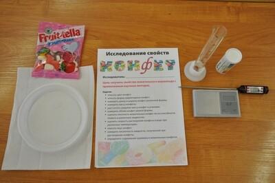 Исследование свойств конфет