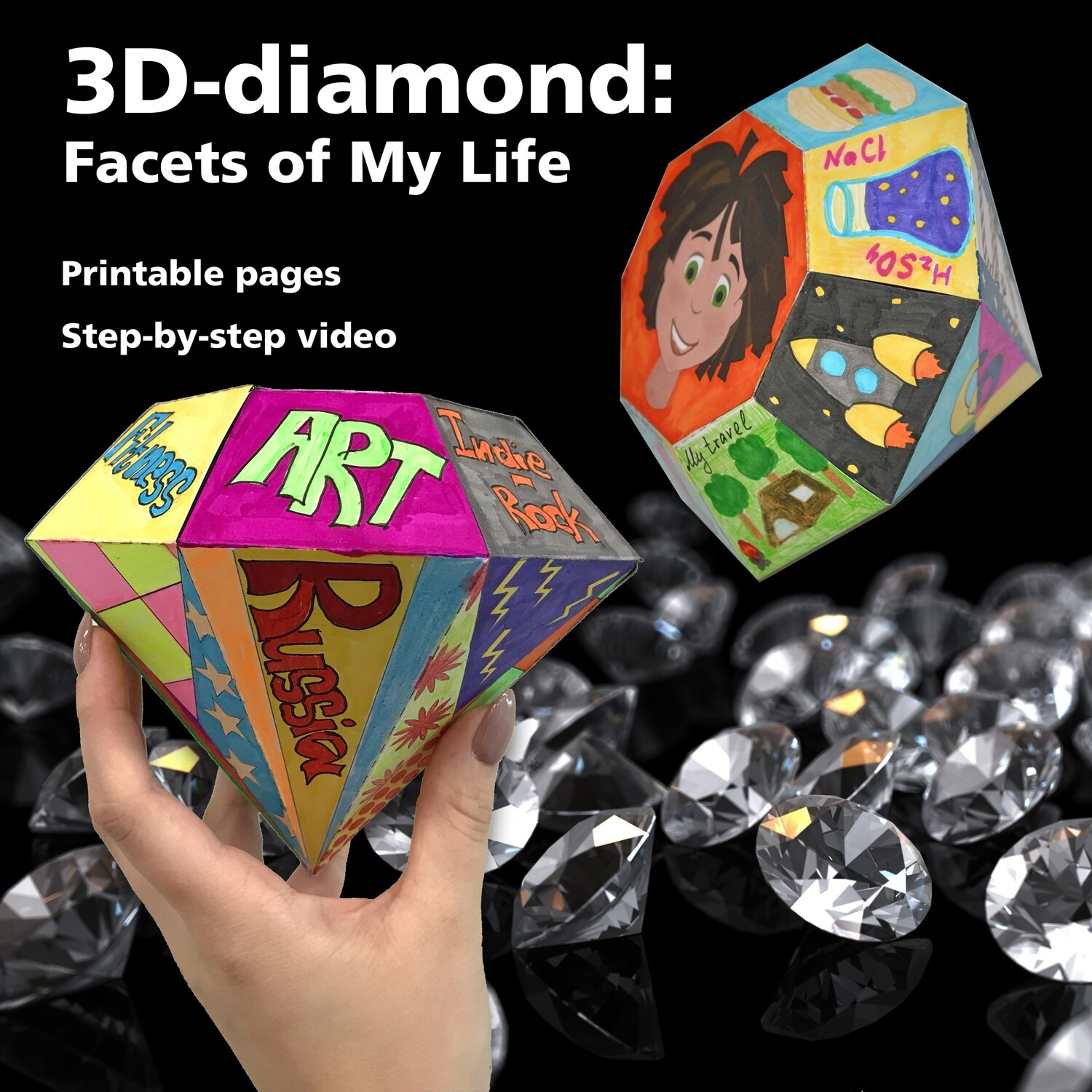 3D-Diamond: Facets of My Life