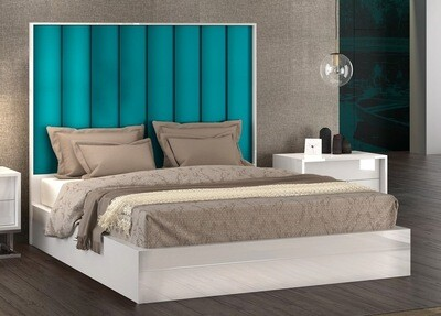Bed with Side Tables(Optional) - Modern