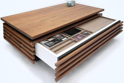 Tea Table with Storage
