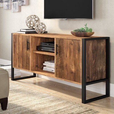 Console Unit with Metal Frame
