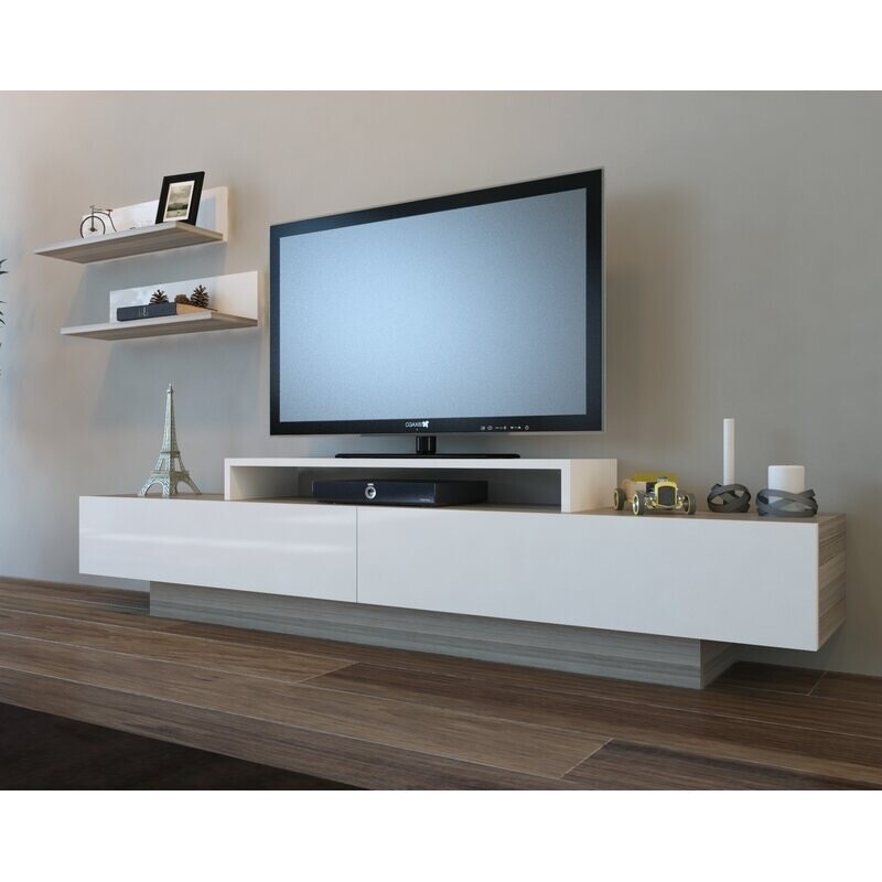 TV Unit with Shelfs - Modern