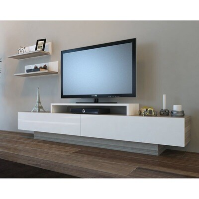 TV Unit with Shelfs - Modern