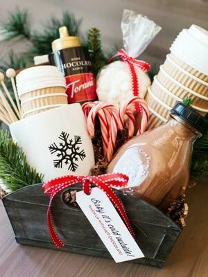 Gourmet Hot Chocolate Basket