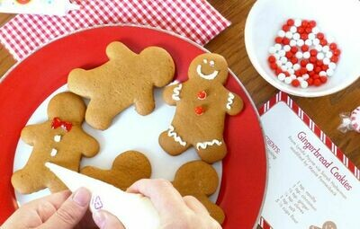 Homemade Gingerbread Cookie Kit