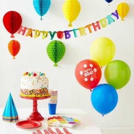Funfetti Birthday Party in a Box