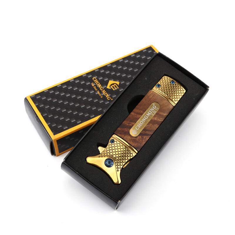 knife luxury handmade wood hunting folding pocket luxury