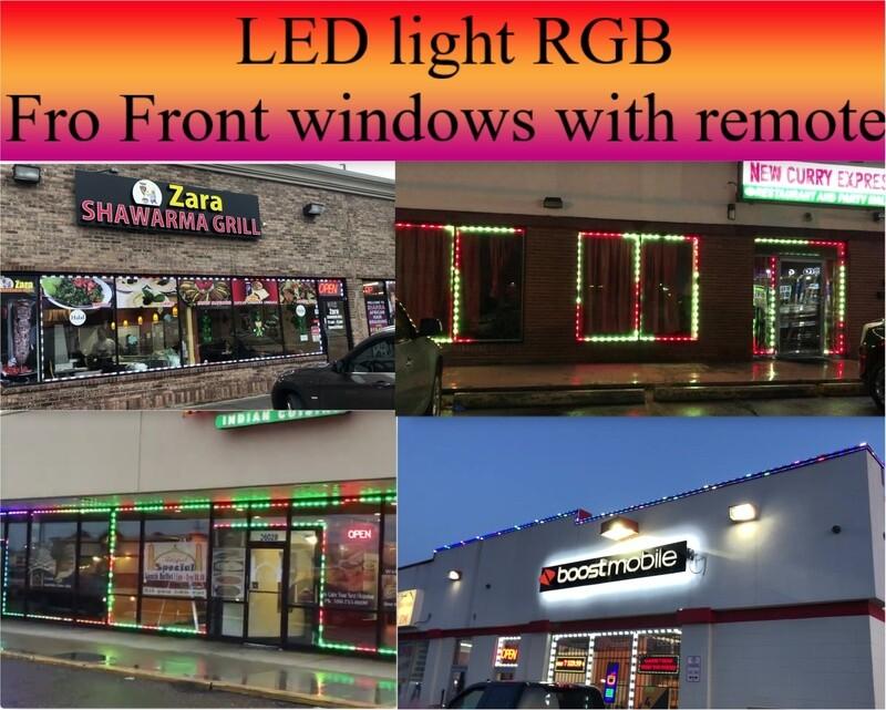 Led light for windows