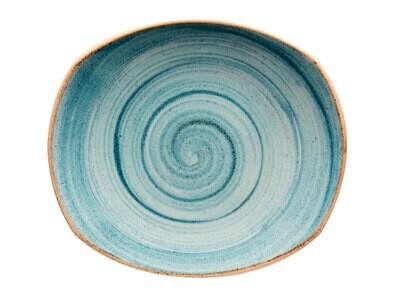 Plato Principal Corona Artisan Azul 10