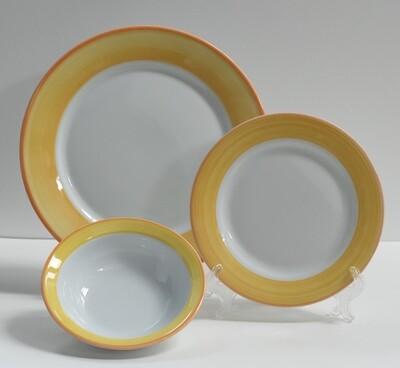 Set de 4 Puestos Calypso Amarillo