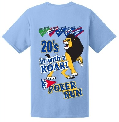 2020 AYC Poker Run T-Shirt - Mens