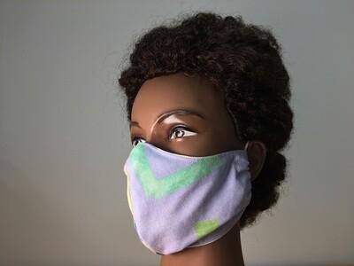 Reusable Contoured Style Facemask
