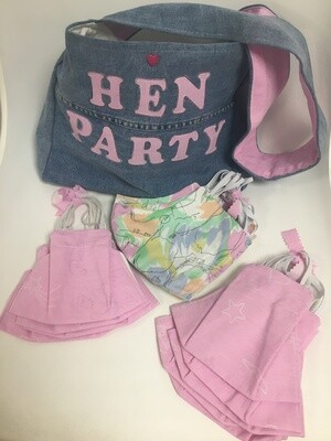 Hen Party Face Mask Pack