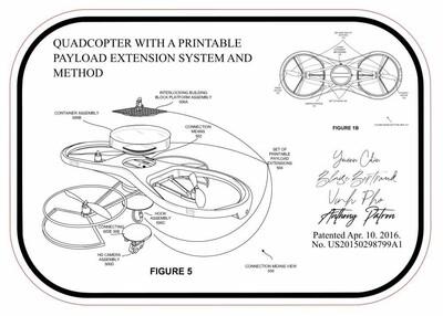Drone Patent Plaque