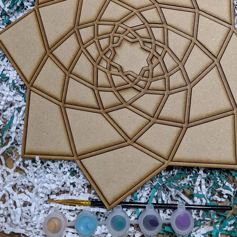 DIY Flower Paint Kit