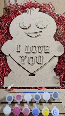 Valentines day paint your own kits