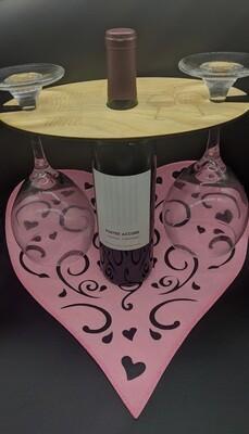Date night wine caddy
