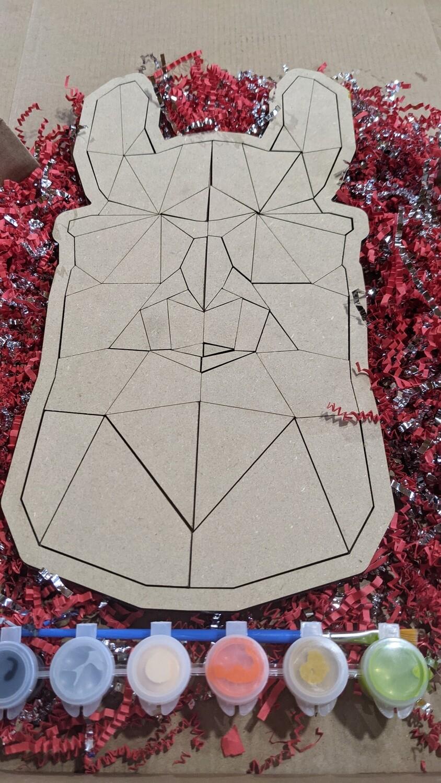 LLama in shades puzzle