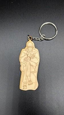 wooden Bernie keychains