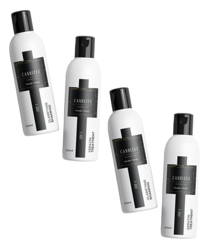 Keratin Candy at Home Smoothing System twin pack